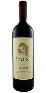 DaVinci Chianti Bottle