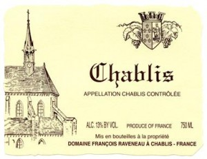 Now you know, Chablis = Awesome French Chardonnay