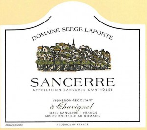 Sancerre Wine Label
