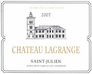 Simple example of an AOC-quality label from St Julien