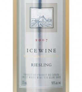 ice wine label